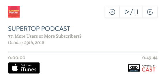Podcast: More Users or More Subscribers? image